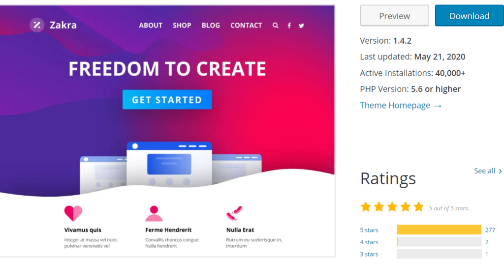 Best WordPress Themes for 2020.