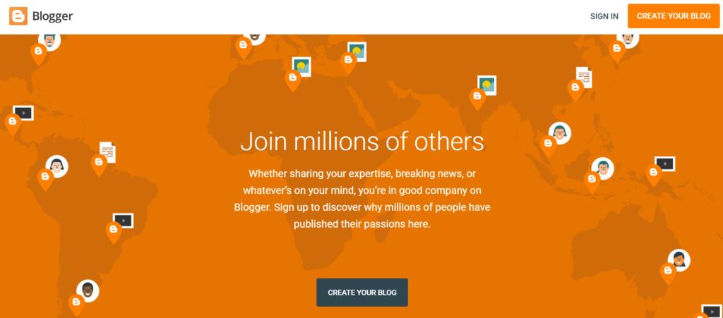 Free Blogging Platforms.