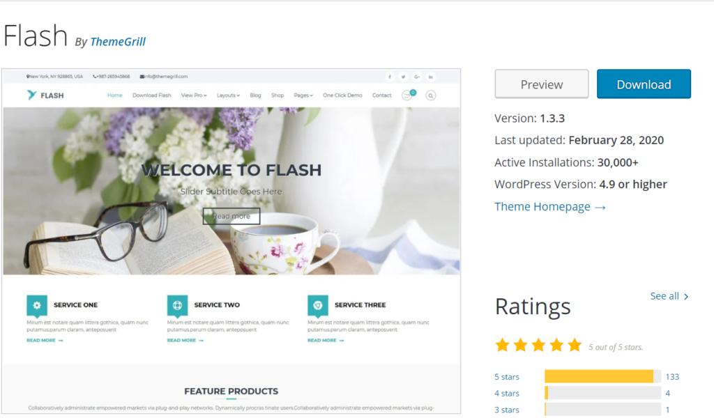 Themes for WordPress.